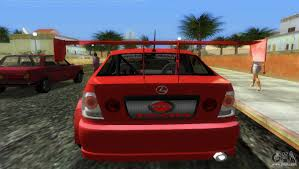 lexus is200 hatchback lexus is200 for gta vice city