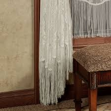 lisette pearl chenille swag valance window treatment