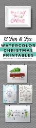 12 free christmas watercolor printables watercolor grinch party