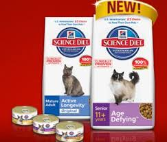 science diet senior cat food coupon contest bargain hunting moms