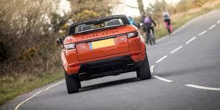 orange range rover evoque land rover range rover evoque convertible review carwow