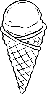 coloring pages ice cream cone ice cream bowl coloring together with drawing ice cream cone