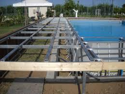 rivestimento in legno per piscine fuori terra rivestimento piscine interrate prezzi idee creative su design