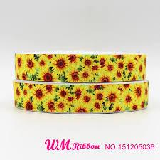 sunflower ribbon popular sunflowers grosgrain ribbon buy cheap sunflowers grosgrain