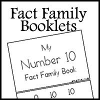 fact family booklets royal baloo