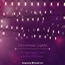 purple christmas lights purple christmas lights background vector free