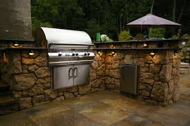 100 small outdoor kitchen design white granite countertops