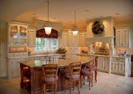 kitchen house plans with large kitchen island luxury home design