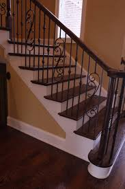Wrought Iron Banister Wrought Iron Railing Exterior Mediterranean With Arched Openings