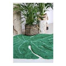 Machine Washable Rug Monstera Leaf Machine Washable Rug 4 U0027 X 5 U0027 3 U0027 U0027 Fire And Creme Kids