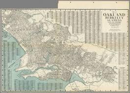 Albany Map Map Of Oakland Berkeley Alameda San Leandro Piedmont