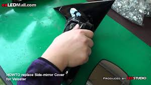 nissan micra left wing mirror howto replace side mirror cover veloster by exledmall com youtube