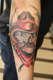 cowboy skull tattoos