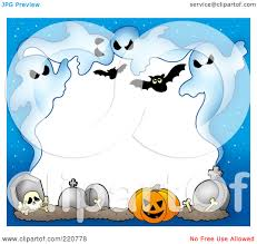 Free Halloween Border by Royalty Free Rf Clipart Illustration Of A Halloween Border Of