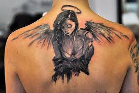 tattoo angel wings on neck 75 remarkable angel tattoos for men ink ideas with wings