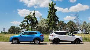 comparison 2017 ford escape vs 2016 hyundai tucson