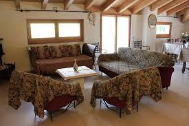 soggiorno e sala da pranzo vista parziale soggiorno e sala da pranzo con accesso all