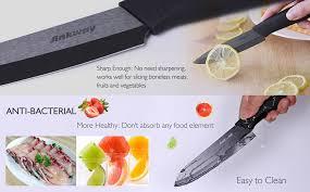 amazon com ceramic knife set ankway 9 piece durable rust proof