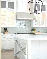kitchen with subway tile backsplash kitchen light blue tile backsplash marble and white kitchen