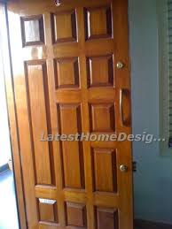 brand new classic designed teak wood main door latest home designs