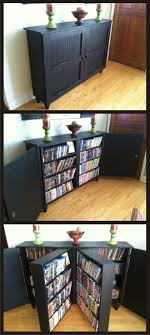 Dvd Storage Cabinet 15 Unique Stylish Cd And Dvd Storage Ideas Dvd Cabinets Dvd S