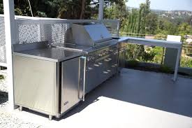 Cabinets For Outdoor Kitchen Stainless Steel Outdoor Kitchen Cabinets Superb Cal Flame Complete