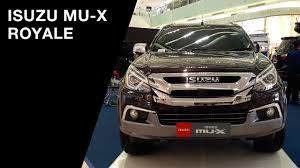 isuzu mu x royale 2017 exterior and interior youtube