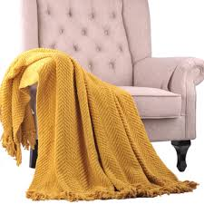 make your home look beautiful with a yellow throw blanket u2013 trusty