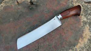 high carbon steel kitchen knives bladesport competition knife chopper forged knives go5 steel