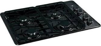 Ge 30 Inch Gas Cooktop Ge Jgp329detbb 30 Inch Gas Sealed Burner Style Cooktop In Black