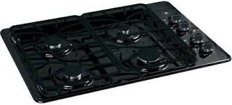 Ge Modular Cooktop Ge Jgp329detbb 30 Inch Gas Sealed Burner Style Cooktop In Black