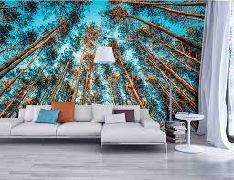 papier peint pour salon salle a manger papier peint trompe l u0027oeil introduisez la nature dans votre