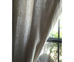 natural linen curtains flax linen handcrafted by