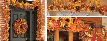 How To Decorate A Swag For Christmas Thanksgiving Decorating Ideas For Your Door Improvements Blog