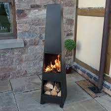 Patio Heater Pyramid by Chimenea Outdoor Garden Pyramid Chimnea Patio Heater Wood Burner