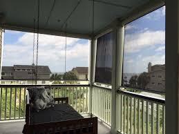 Glass Blowing Ventilation Aristocrat Retractable Porch Shades U0026 Garage Screens Palmetto