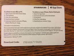 starbucks now lets you use your iphone u0027s camera to redeem pick of
