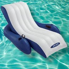 Intex Floating Recliner Lounge Floating Recliner Pool Lounge Cooltagged