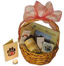 bereavement gift baskets express your sympathy with the right card a donation in the pet s