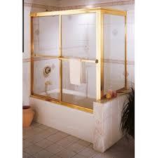 Gold Shower Doors Century Bathworks Bathroom Shower Enclosures Gold Tones