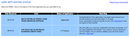 getting approved for 2 delta amex cards 100k miles in total