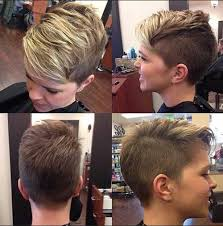 very short pixie hairstyle with saved sides trendy short side pixie hair pixie haircuts pinterest pixies