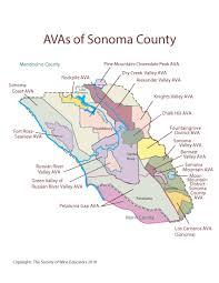 california map society california sonoma county swe map 2018 wine wit and wisdom