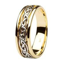 celtic wedding ring wedding ring celtic knot design