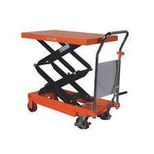 Pallet Lift Table by Double Scissor Lift Table Truck Tfd70 700kg 1220mm X 610mm