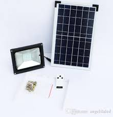 high lumen solar spot lights solar 10w led flood light with remote controller automatically