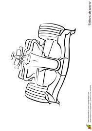 dessin à colorier d u0027une voiture de course de type formule 1