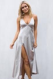 dress silk dress stunner boutique stunner silk long dress