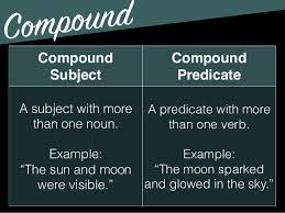 compound subject and compound predicate worksheets with answers