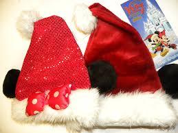 amazon com disney park christmas mickey minnie mouse ears santa